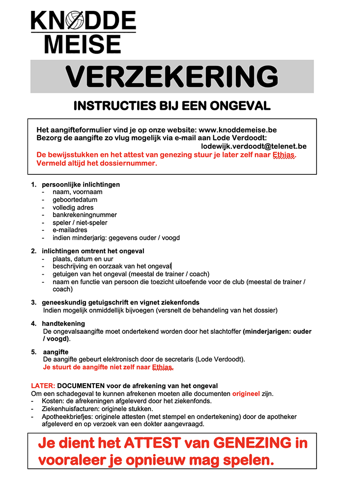 To do list verzekering